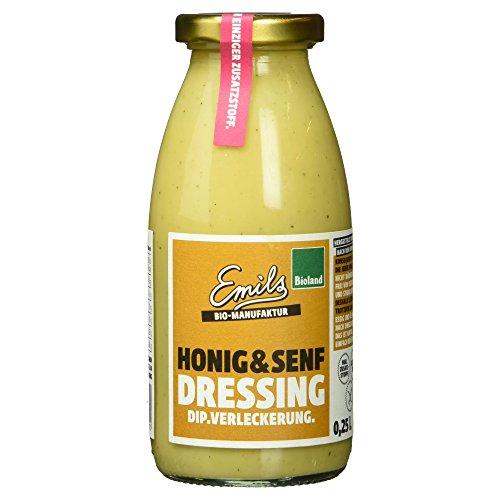 Emils Bio Bioland Honig und Senf Dressing, 250 ml