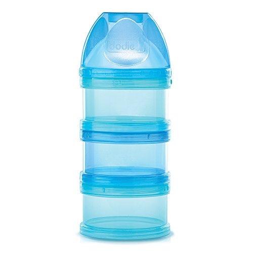 Dodie Boîte Doseuse Transparente Séparable à l'Unités, Bleu/Lagoon, 1 Unité