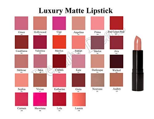 Beauty Deals Luxury Matte Lipstick Luxurious Hydrated Creamy Lipstick (Lola)