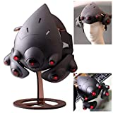 Gmasking 2019 Widow Maker Cosplay Light-up Helmet Exclusive 1:1 Collectible Costume Props Black