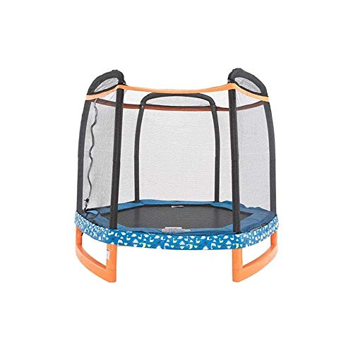 YWAWJ Foldable Mini Trampoline, Fitness Trampoline with Safety Pad, Stable & Quiet Exercise for Kids Adults Indoor/Garden Workout
