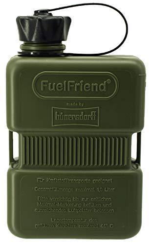 FuelFriend®-Plus 1,0 Liter - Sonderserie Oliv - Klein-Benzinkanister Mini-Reservekanister