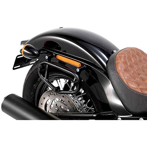 SW-MOTECH Motorrad-Satteltaschen-Trägersystem Seitentaschen-Träger SLC Links HTA.18.899.10000 für Harley-D, Unisex, Chopper/Cruiser, Ganzjährig, Stahl, schwarz