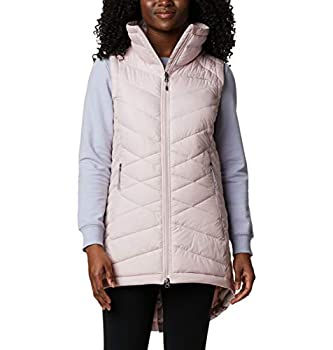 Columbia Women s Heavenly Long Vest Mineral Pink X-Small