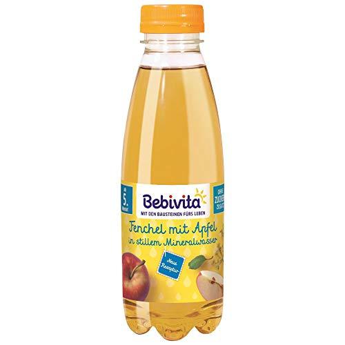 Bebivita Saft & Mineralwasser Fenchel mit Apfel in stillem Mineralwasser, 500 ml