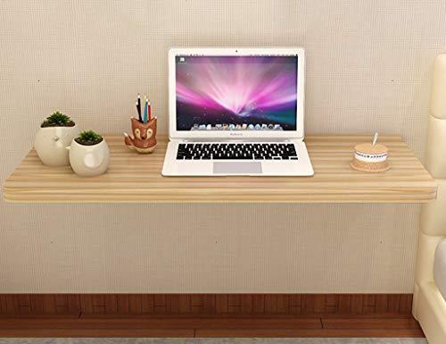 ZQH Escritorio para computadora de pared para el hogar, mesa plegable de madera, escritorio simple