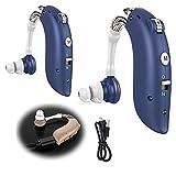 2021 Nueva Tecnología Inventada Amplificador De Sonido Bluetooth Audífono Digital Recargable USB Potentes Audífonos con Pérdida Auditiva 2 PCS