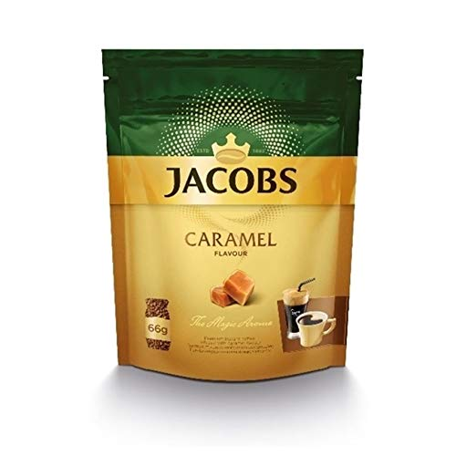 Jacobs Kaffee-Aroma Instant Coffee Caramel Aroma - 1 Packung à 66 g