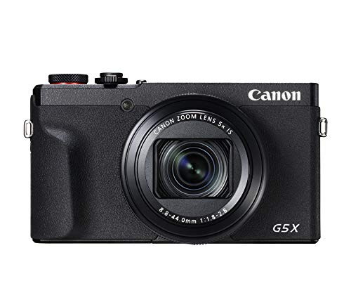 Canon PowerShot G5 X Mark II Digital Camera w/ 1 Inch Sensor, Wi-Fi & NFC Enabled, Black