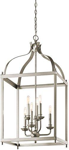 Colonial Silver Five Light Chandelier - 2