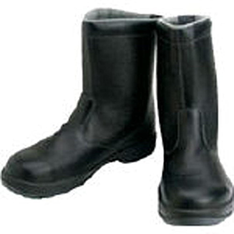 一節ルネッサンスインレイシモン/シモン 安全靴 半長靴 SS44黒 27.5cm(2528959) SS44-27.5 [その他]