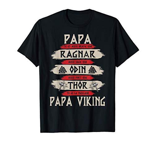 Homme Mythologie celtique des Vikings - Papa Viking - Vikings T-Shirt