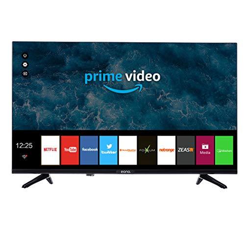 Eono von Amazon rahmenlose 81 cm (32 Zoll) HD-Smart-TV mit Prime Video