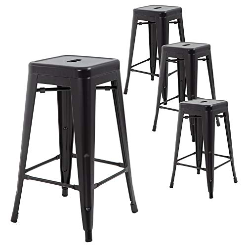 FDW Metal Bar Stools