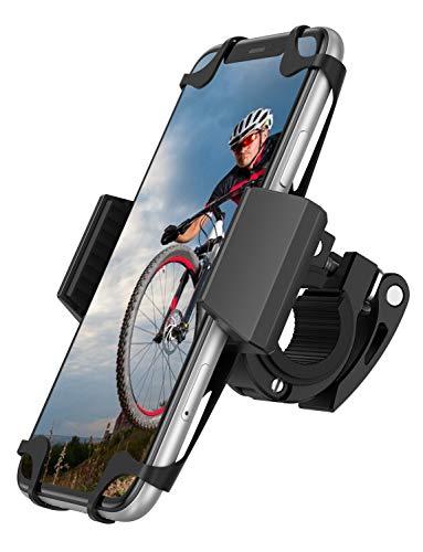 SPARIN Fahrrad Handyhalterung Universal Motorrad Handy Halterung für 4,7-6,8 Zoll Smartphone, 360° Drehen, Anti-Shake,iPhone SE 2020/ X/ XR/ XS MAX/8/7/6 Plus, Samsung Galaxy S20/ S10/S10e/ S10 Plus