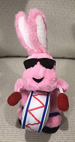"Energizer Bunny 12"" Plush ""Not battery operated"""