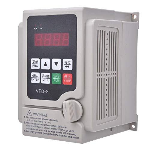 Frequenzumrichter,380 V Frequenzumrichter 3 Phasen Eingang 3 Phasen Ausgang VFD Frequenzumrichter Dreiphasiger 380V Wechselrichter VFD Drehzahlregler VFD Inverter(2.2KW)