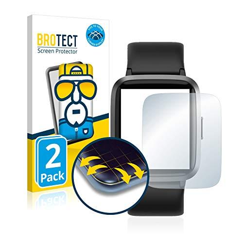 BROTECT Full-Cover Schutzfolie kompatibel mit Umidigi UFit (2 Stück) - Full-Screen Displayschutz-Folie, 3D Curved, Kristall-Klar