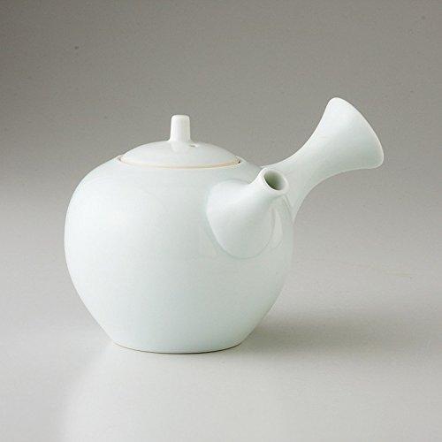 saikai pottery Kyusu (Japanese teapot) All white pattern 68431 from Japan
