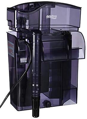 AMTRA, Ecumeur pour Aquarium, Skimmer externe amovible pour Aquarium 100L