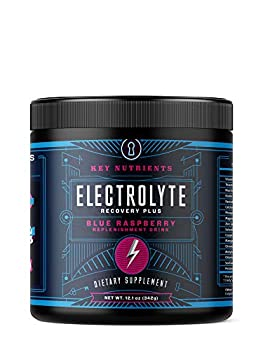 Electrolyte Powder Blue Raspberry Hydration Supplement  90 Servings Carb Calorie & Sugar Free Delicious Keto Replenishment Drink Mix 6 Key Electrolytes - Magnesium Potassium Calcium & More.