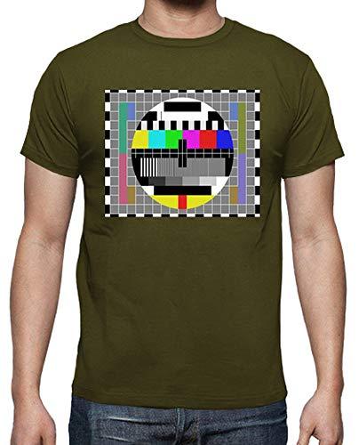 latostadora - Camiseta Carta de Ajuste para Hombre