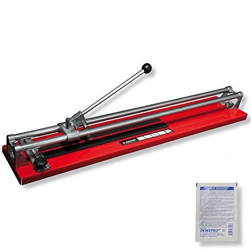 JOKOSIT® Fliesenschneider BASIC-CUT 800mm inkl. 1 St. DEWEPRO SingleScrubs