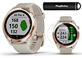 Garmin Approach S42 GPS Golf Watch Bundle   Includes PlayBetter Portable Charger & HD Screen...