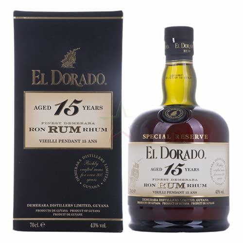 El Dorado 15 Years Old Special Reserve 43,00% 0,70 Liter