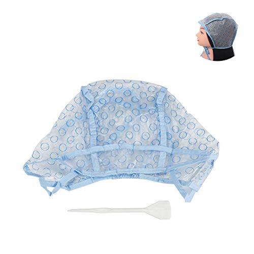 Capuchon de surbrillance, capuchon de surbrillance réutilisable pour cheveux Teinture de cheveux jetable Tress Bonnet Capuchon de teinture pour les cheveux avec crochet Accessoires de teinture