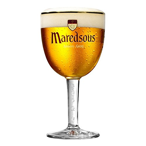 Maredsous Bierglas 33cl Original Belgisches Biergläser