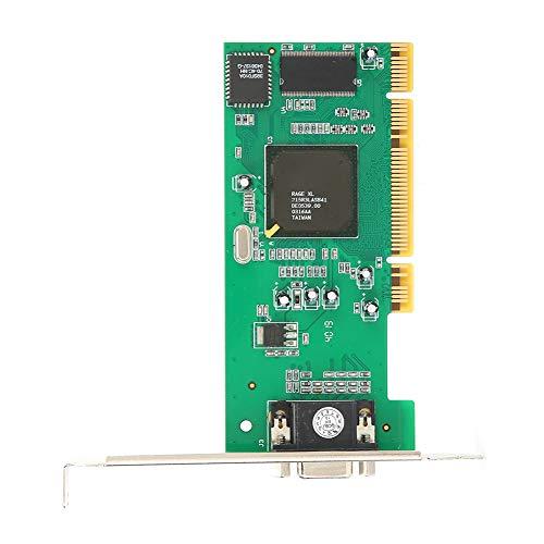 VGA-Karte, 32-Bit-PCI-Grafikkarte, für Server- / Desktop- / Industriecomputeranzeige