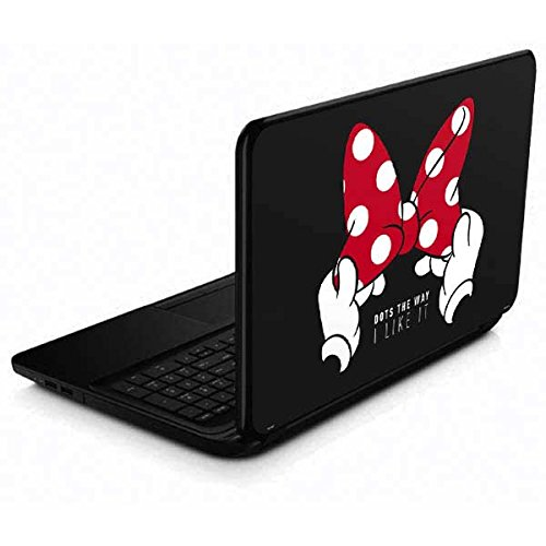 Skinit Decal Laptop Skin Compatible with 15.6 in 15-d038dx - Officially Licensed Disney Minnie Mouse Dots The Way Design