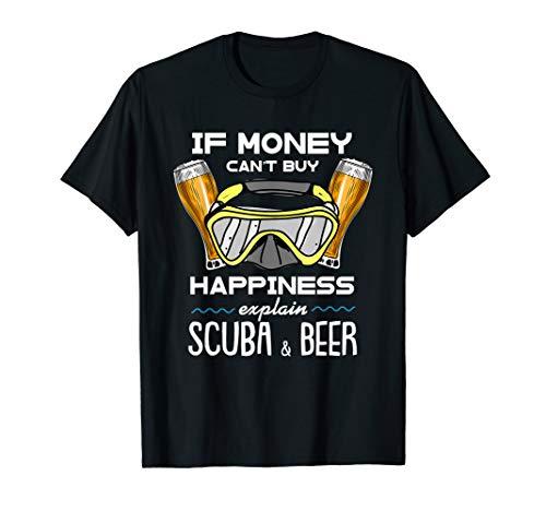 Scuba & Beer I Tauchen Schnorchel Bier Bierflasche Tshirt
