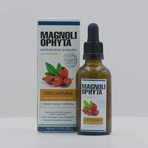 Magnoliophyta Aceite de Rosa Mosqueta y Vitamina C, Facial y Corporal, Todo...