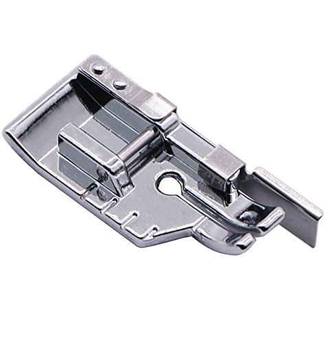Best Price! 1/4'' (Quarter Inch) Quilting Patchwork Sewing Machine Presser Foot with Edge Guide for ...