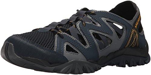 Merrell Men's Tetrex Crest Wrap Sport Sandal, Navy, 8.5 Medium US
