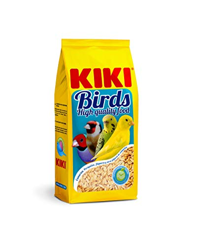 Kiki Avena pelada para pájaros Birds - Bolsa 500 gr.