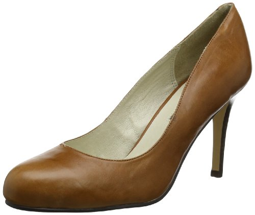 Buffalo London Damen 107-2984 COW LEATHER Pumps, Braun (TAN 01), 40 EU