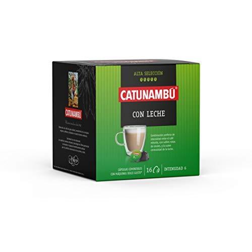 Catunambú, Cápsulas de café (Leche) - 160 gr