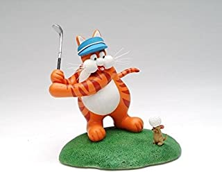 ATD 41812 5.75 Inch Multicolored Golfing Cat Themed Figurine