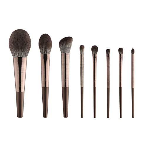 Pinceaux de Maquillage 10 pièces Set de pinceaux de Maquillage Professionnel Fondation Kabuki Mélange Concealer pour Le Contour des Yeux Poudre de crème Liquide pour pinceaux Ensembles