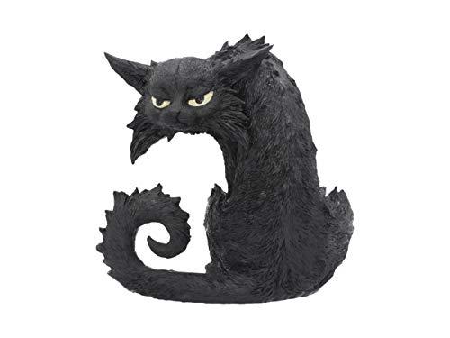 Nemesis Now Figur Spite Hexe Familiar Schwarze Katze 25,5 cm