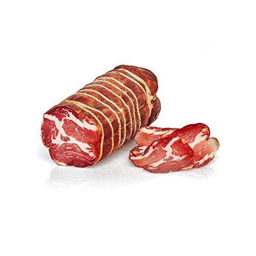 Italienische Luftgetrocknete, würzige Capocollo, Kalabrische Spezialität, Salumi Pasini 1,3kg