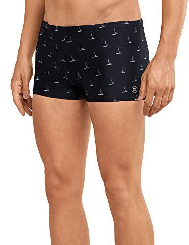 Schiesser Herren Aqua Bade-Retromini Shorts, Schwarz (Schwarz 000), XX-Large (Herstellergröße: 008)