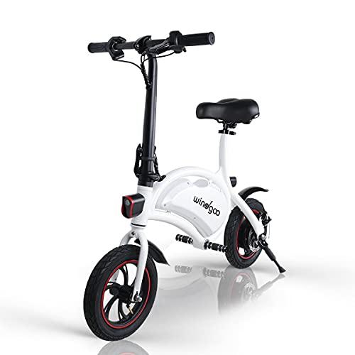 Windgoo B3 Electric Bike, 12 inch Foldable and Commuting E-Bike, 350W Motor...