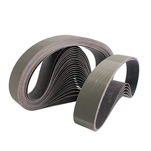JINYIWEN Schuurband 3 stuks Schuurband 3m Schuurband voor RVS schuurmachine/polijstmachine P800-2500