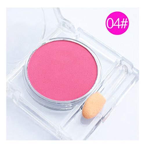 Blusher Palette Nude Makeup Blush Puder Kosmetik Schlanke koreanische Make-up Wange Schlanke weiche...
