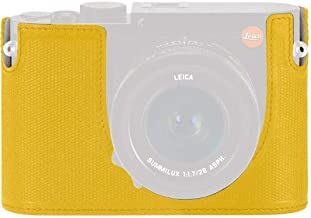 Leica Protector - Q (Typ 116), Leather, Yellow