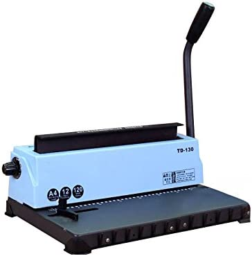 Binding Machine - All Steel Metal 34Holes Coil Cheap mail order Translated sales Punching Spiral B